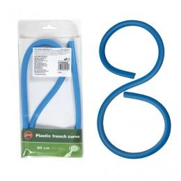 Лекало 80 см, KOH-I-NOOR, гибкое, свинцовый стержень в пластике, европодвес, 071705800001