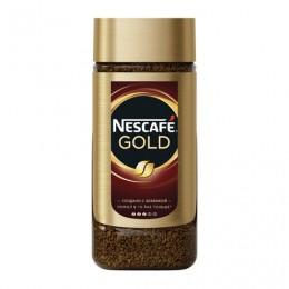 Кофе молотый в растворимом NESCAFE (Нескафе) Gold, сублимированный, 95 г, стеклянная банка, 12135507