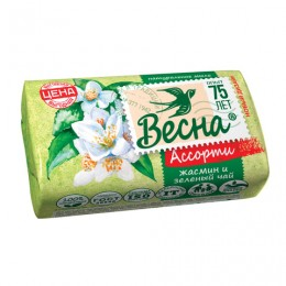 Мыло туалетное 90 г, ВЕСНА
