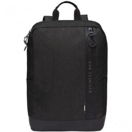 Рюкзак GRIZZLY универсальный, карман для ноутбука, черный,