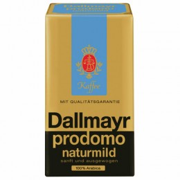 Кофе молотый DALLMAYR (Даллмайер) Naturmild, арабика 100%, 250г, вакуумная упаковка, ш/к 03957