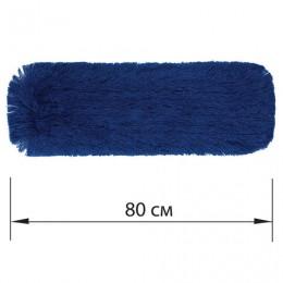 Насадка МОП плоская 80 см для швабры-рамки, карманы, СУХАЯ УБОРКА, акрил, ЛАЙМА Expert, 605321