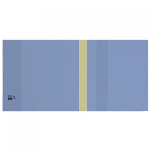 Обложка ПЭ 300х580 мм для учебников, тетрадей А4, контурных карт, ПИФАГОР, универсальная, С ЗАКЛАДКОЙ, 200 мкм, штрих-код, 229396