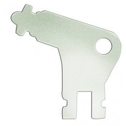 Ключ для электронных диспенсеров TORK Wave, металлический, 470092
