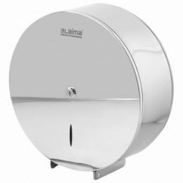 Диспенсер для туалетной бумаги LAIMA PROFESSIONAL INOX, (Система T1), нержавеющая сталь, зеркальный, 605701