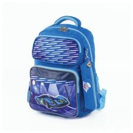 Рюкзак Юнландия для начальной школы, мальчик, Машина, 42х29х14 см, Код_1С
