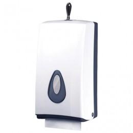 Диспенсер для туалетной бумаги KSITEX (Система Т3/Т4), листовой/в стандартных рулонах, белый, TH-8177A