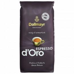 Кофе в зернах DALLMAYR (Даллмайер) Espresso d`Oro, 1000г, вакуумная упаковка, ш/к 54679, 546000000