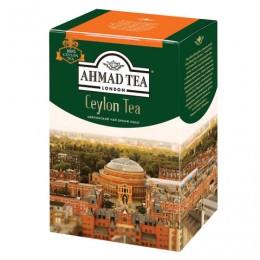 Чай AHMAD (Ахмад) Ceylon Tea OP, черный листовой, картонная коробка, 200 г, 1289-012