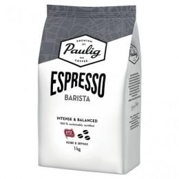 Кофе в зернах PAULIG (Паулиг) Espresso BARISTA, натуральный, 1000 г, вакуумная упаковка, 16623