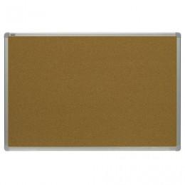 Доска пробковая 120x180 см, алюминиевая рамка, OFFICE,