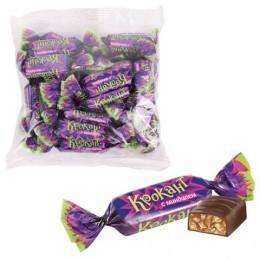 Конфеты шоколадные ЯШКИНО Крокант, грильяж с миндалём и арахисом, пакет, 1 кг, НК927