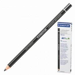 Маркер-карандаш сухой перманентный для любой поверхности, черный, 4,5 мм, STAEDTLER, 108 20-9