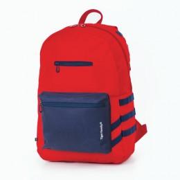 Рюкзак TIGER FAMILY (ТАЙГЕР), молодежный, сити-формат, красный, 45х29х14 см, TDMU-001A