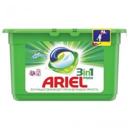 Средство для стирки в капсулах 12 шт. по 28,8 г ARIEL (Ариэль) Горный родник, 1001924