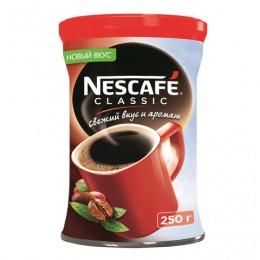 Кофе растворимый NESCAFE Classic, гранулированный, 250 г, жестяная банка, 12267664