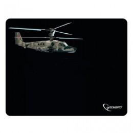 Коврик для мыши GEMBIRD MP-GAME4, резина+ткань, 250х200х3 мм, черный