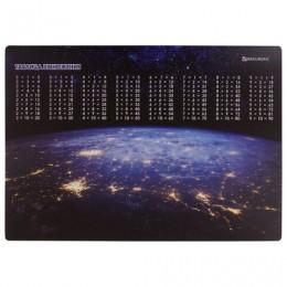 Настольное покрытие BRAUBERG, А3+, пластик, 46x33 см, Space, 270402