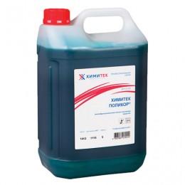 Средство для уборки сантехнических блоков 5 л, ХИМИТЕК ПОЛИКОР, кислотное, пенное, концентрат, 80106