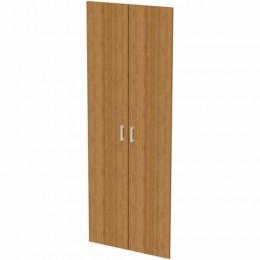 Дверь ЛДСП высокая Арго, КОМПЛЕКТ 2 шт., 355х18х1910 мм, орех, А-606
