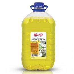 Средство для мытья посуды 5 кг, НИКА Супер, лимон, концентрат, ПЭТ