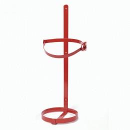 Кронштейн с защелкой настенный/транспортировочный для огнетушителей ОУ-5, d - 133 мм, ЯРПОЖ, УТ-00000831