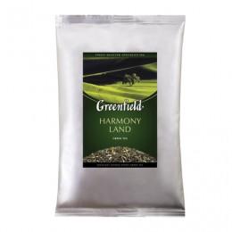 Чай GREENFIELD (Гринфилд) Harmony Land, зеленый, листовой, 250 г, пакет, 0978-15