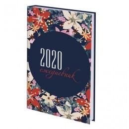 Ежедневник датированный 2020 А5, ламинированная обложка, Настроение, 145*215 мм, BRAUBERG, 110918