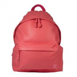 Рюкзак BRAUBERG молодежный, сити-формат, Селебрити, искусственная кожа, КОРАЛЛ розовый, 41х32х14 см, 227102