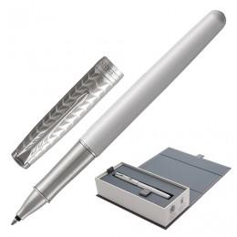 Ручка-роллер PARKER Sonnet Premium Metal&Pearl Lacquer CT, корпус жемчужный лак, палладиевые детали, черная, 1931549