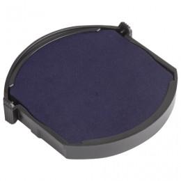 Подушка сменная для печатей ДИАМЕТРОМ 42 мм, для TRODAT 4642, синяя, 91312