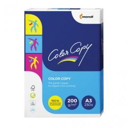 Бумага COLOR COPY, А3, 200 г/м2, 250 л., для полноцветной лазерной печати, А++, Австрия, 161% (CIE), A3-7158