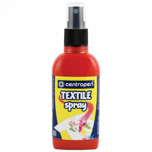Краска-спрей для ткани и одежды КРАСНАЯ CENTROPEN