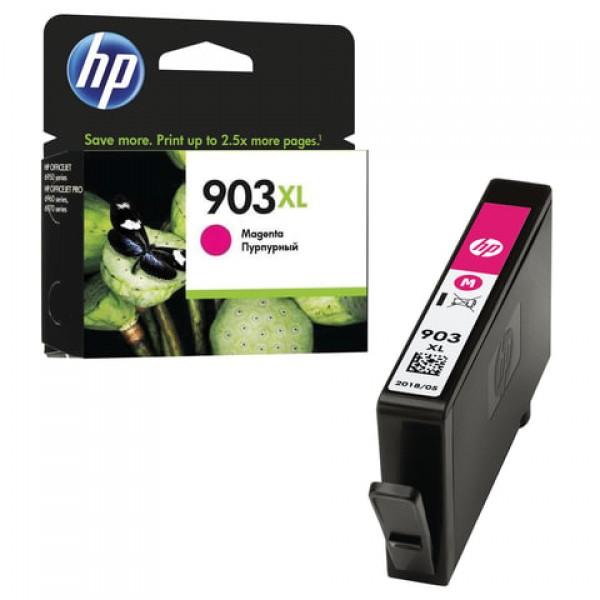 Картридж струйный HP (T6M07AE) OfficeJet 6950/6960/6970, №903XL, пурпурный, увеличенный ресурс 825 стр., оригинальный