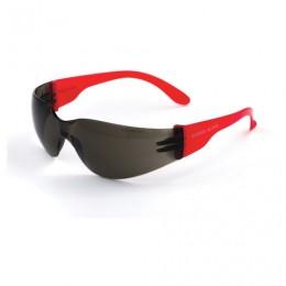 Очки защитные открытые РОСОМЗ О15 Hammer Active super, затемненные, устойчивы к химическим веществам, незапотевающее покрытие, поликарбонат, 11562