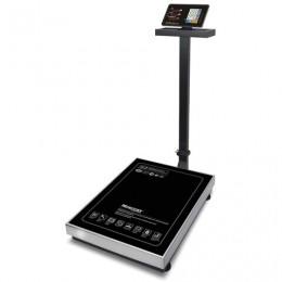 Весы напольные MERCURY M-ER 333ACLP-300.100 LED (2-300 кг), дискретность 100 г, платформа 600x800 мм, со стойкой