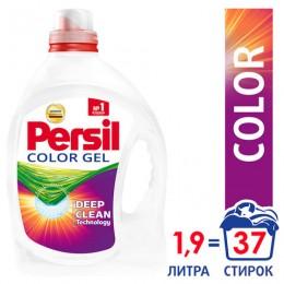 Средство для стирки жидкое автомат 1,95 л PERSIL (Персил) Color, гель, 2454029