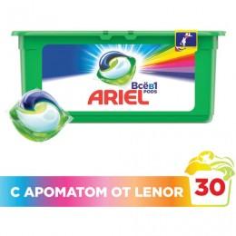 Средство для стирки в капсулах 30 шт. по 28,8 г ARIEL (Ариэль) Ленор эффект, AG-81578065