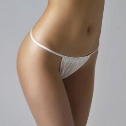 Трусики-бикини белые женские ЧИСТОВЬЕ КОМПЛЕКТ 25 шт., спанбонд, 30 г/м2, 44-48 размер, 01-601