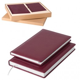 Набор GALANT Стандарт (ежедневник А5, телефонная книга А5), бордо, 124041