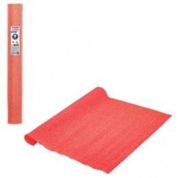 Бумага гофрированная (ИТАЛИЯ) 140г/м, оранжевая (981), 50х250см, BRAUBERG FLORE, 112564