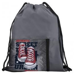 Сумка для обуви ЮНЛАНДИЯ, дизайн на кармане, 35*42 см, Urban, Код_1С, 228370