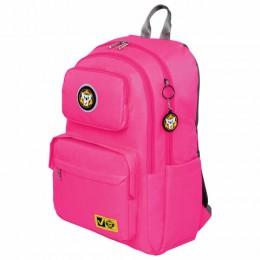 Рюкзак BRAUBERG LIGHT молодежный, с отд. для ноутбука, нагрудн. ремешок, фуксия, 47х31х13 см, 270297