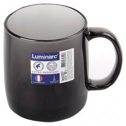 Кружка для чая и кофе, объем 380 мл, дымчатое стекло, Nordic Graphite, LUMINARC, N5776