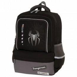 Рюкзак BRAUBERG STAR, Spider, черный, 40х29х13 см, 229978