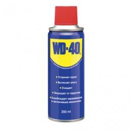 Средство WD-40 универсальное, 200 мл, для тысячи применений в офисе, быту, производстве, WD0001