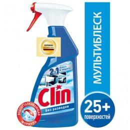 Средство для мытья стекол и поверхностей 500 мл, CLIN (Клин) Мультиблеск, распылитель, 2295472
