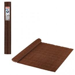Бумага гофрированная (ИТАЛИЯ) 140г/м, коричневая (968), 50х250см, BRAUBERG FLORE, 112579