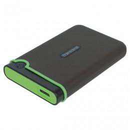 Диск жесткий внешний HDD TRANSCEND StoreJet 25M3S 2TB 2.5, USB 3.1, серый, TS2TSJ25M3S