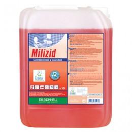 Средство для уборки санитарных помещений 10 л, DR.SCHNELL Milizid (Милицид), кислотное, 143388